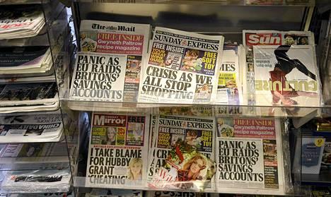 Britanniaan perustetaan lehdistön toimintaa säätelevä elin, pääpuolueet päättivät maanantaiaamuna.