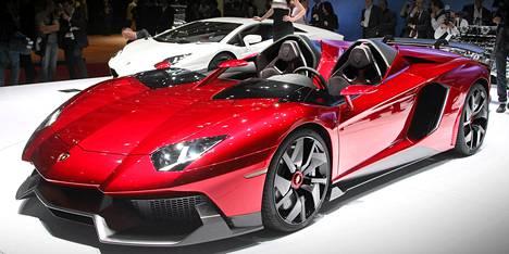 Eniten verotettu käytettynä Suomeen tuotu auto on ollut Lamborghini Aventador. Kuvassa malli Lamborghini Aventador J.