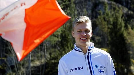Topi Raitanen harjoitteli viime keväänä Kisakalliossa.