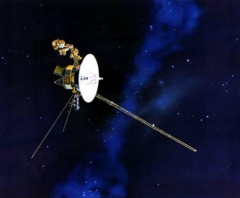 NASA:n Voyager 1 luotain on jättänyt aurinkokunnan.