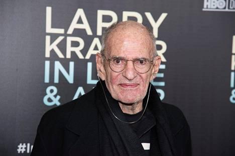 Näytelmäkirjailija Larry Kramer oli keskeinen hahmo Yhdysvalloissa pahimman aids-kriisin aikaan 1980-luvulla.