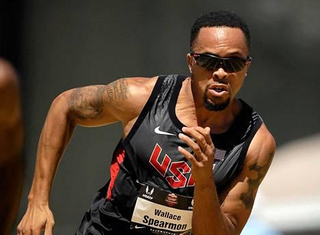 Wallace Spearmon selvisi dopingkärystä säikähdyksellä.