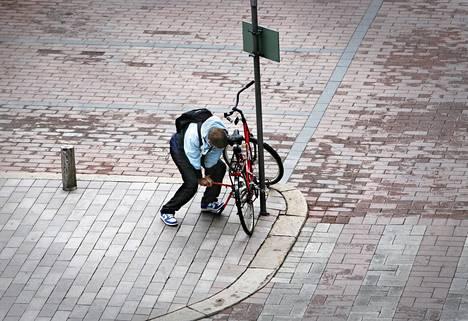 Kevät herättää myös pyörävarkaat.