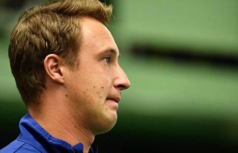 Henri Kontinen on Suomen Davis Cup -joukkueen nimekkäin pelaaja.