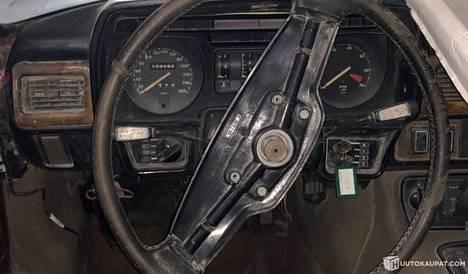 Jaguarilla on ajettu 130 000 kilometriä.