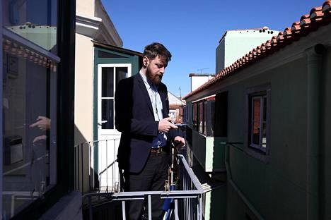Tanskalainen kasvuyrittäjä Frederik van Deurs arvostaa Lissabonissa sekä aurinkoa että huokeita palkkakustannuksia. Hän muutti vuoden alussa kaupunkiin Kööpenhaminasta eikä kadu.