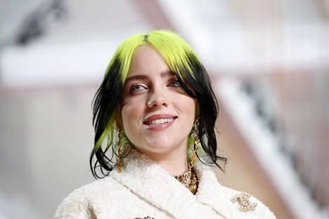 Muusikko Billie Eilish valokuvattiin helmikuussa Los Angelesissa.