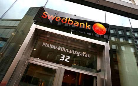 Swedbankin konttori Tukholman keskustassa vuonna 2008.