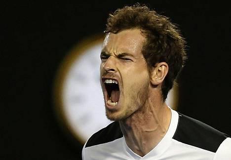 Näin tuuletti Andy Murray