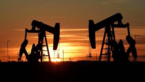 Öljyntuotantoa Teksasissa Yhdysvalloissa elokuussa 2018.