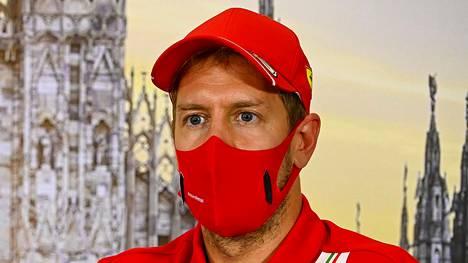 Sebastian Vettel on ajanut Ferrarilla kuuden kauden ajan.