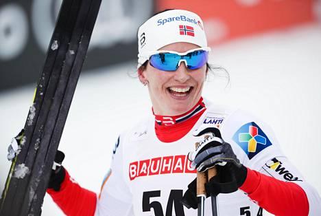 Hiihtäjä Marit Björgen on Norjan olympiajoukkueen vahvin mitalitoivo.