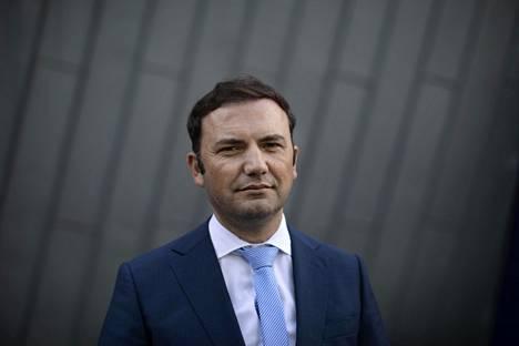 Pohjois-Makedonian varapääministeri Bujar Osmani vieraili Helsingissä torstaina.