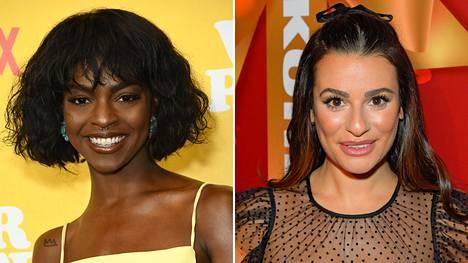 Samantha Ware ja Lea Michele työskentelivät yhdessä Glee-sarjan kuudennella tuotantokaudella, joka julkaistiin vuonna 2015.