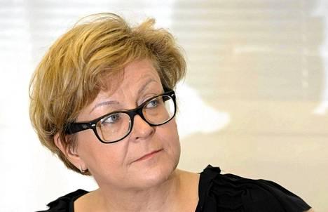Finnavian hallituksen puheenjohtaja Riitta Tiuraniemi.