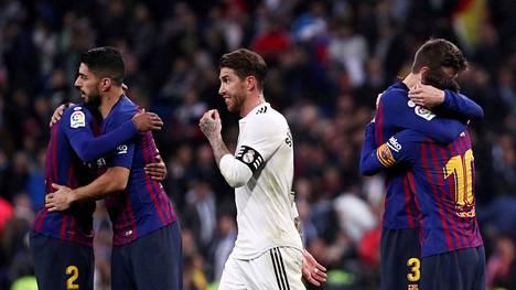 Maaliskuun alussa FC Barcelona juhli vierasvoittoa Real Madridin stadionilla.