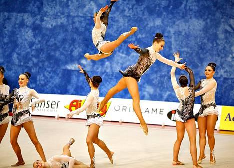 Espoolainen OVO Team on yksi mitalisuosikeista joukkuevoimistelun MM-kisoissa toukokuun lopulla.