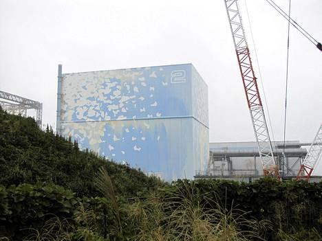 Fukushima vaurioituneen kakkosvoimalan kunnostusta syyskuussa.