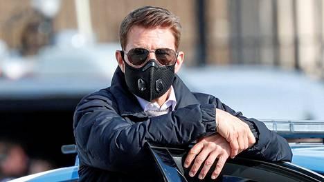 Tom Cruise kuvattiin lokakuussa Mission: Impossible 7 -elokuvan kuvauksissa Roomassa.