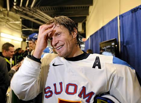 Kimmo Timonen on Philadelphia Flyersin luottopuolustaja.