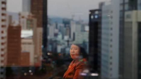 Kim Ryon-hui Etelä-Korean Soulissa viime marraskuussa.