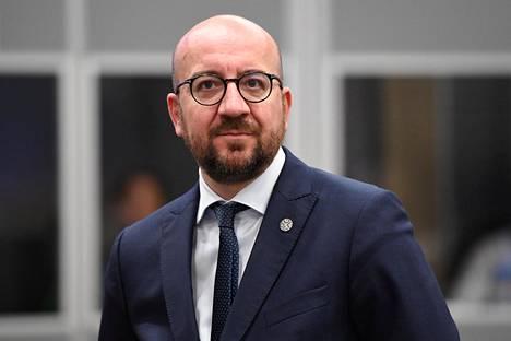 Belgian pääministeri Charles Michel eroaa tehtävästään.