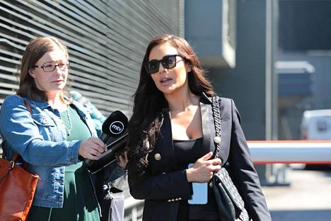 Sofia Belórfia on syytetty oikeudessa Niko Ranta-ahon huume- ja dopingrahojen pesemisestä.