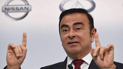 Nissanin hallituksen entinen puheenjohtaja Carlos Ghosn.