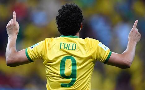 Fredin maali oli suuri helpotus hänen itselleen, mutta myös Brasilian faneille.