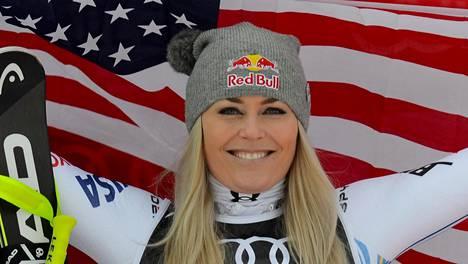 Lindsey Vonn päätti menestyksekkään uran vuonna 2019 Åressa.