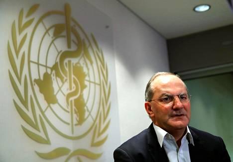 WHO:n hätätoimista vastaava johtaja Peter Salama.