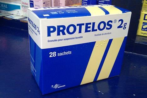 Protelos-osteoporoosilääkettä myydään useissa maissa.