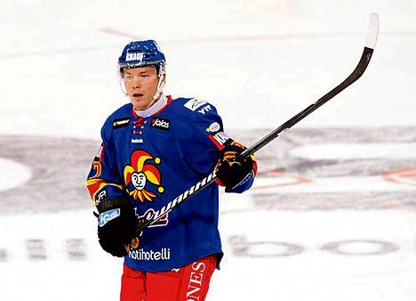 Ladislav Nagy on pelannut lauantain jälkeen kaksi peliä Jokereissa. Eilen syntyi voittomaali vierasottelussa Ässiä vastaan.