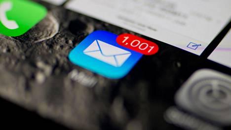 Haavoittuvuus on Applen omassa Mail-sähköpostiohjelmassa, ja se koskee laitteita, joissa on Ios-käyttöjärjestelmä.