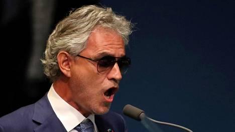 Helsingissä Andrea Bocelli esittää pääosin oopperamusiikkia, mutta on parhaillaan levyttämässä pop-albumia 13 vuoden tauon jälkeen