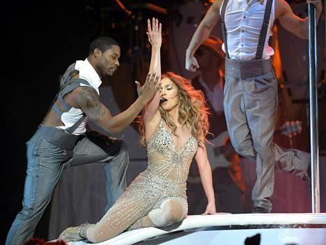 Jennifer Lopez esiintyi Hartwall Areenalla keskiviikkoiltana.