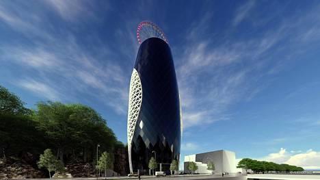 Konseptisuunnittelija Tuomas Jussilan mukaan Turku toimisi ikään kuin rakennuksen sisustuselementtinä. Korkeasta rakennuksesta näkyisi pitkälle kaupungin yli.
