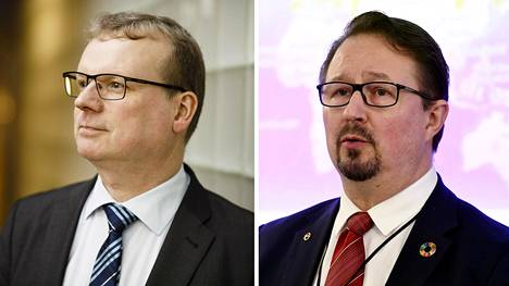 Markku Tervahauta ja Mika Salminen