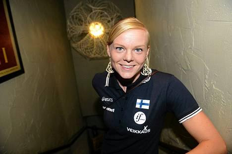 Hanna-Maari Latvala juoksi oman parhaan aikansa liian kovassa myötätuulessa.