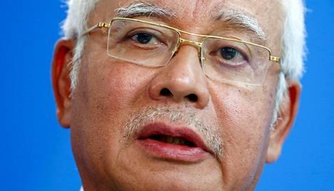Malesian entinen pääministeri Najib Razak syyskuussa 2016 Berliinissä.