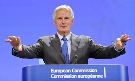 EU:n sisäasioista vastaava komissaari Michel Barnier