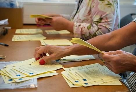 Ruotsin vaalit järjestettiin viikko sitten, mutta tulos saatiin vahvistettua vasta nyt.
