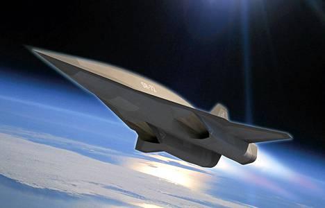 Uusi kone, nimeltään Blackbird SR-72, on uusi malli kylmän sodan aikana käyttöön otetusta legendaarisesta Blackbird SR-71:stä.