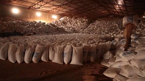 Kolme miljoonaa etiopialaista on ruoka-avun varassa, ja maa kärsii ruokapulasta. Samaan aikaan ruokaa tuotetaan säkkikaupalla vientiin.