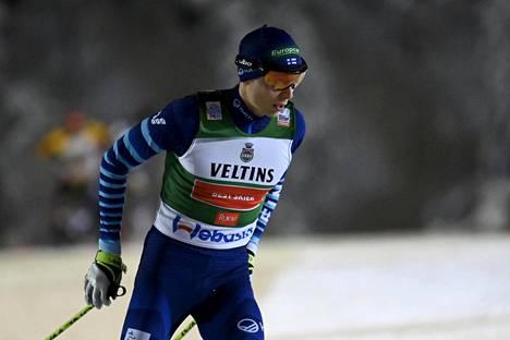 Eero Hirvonen sijoittui sunnuntaina kahdeksanneksi Rukalla.