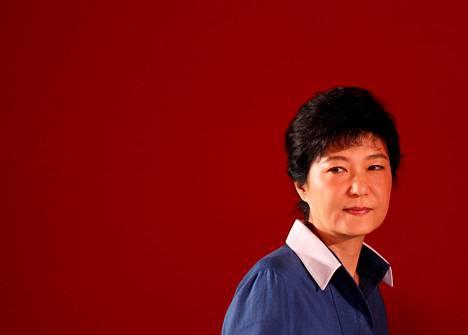 Presidentti Park Geun-hye saattaa joutua virkasyytteeseen.