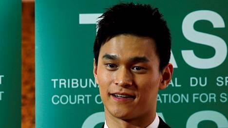 Sun Yang on valittanut dopingpannastaan urheilun kansainväliseen välitystuomioistuimeen CAS:iin.