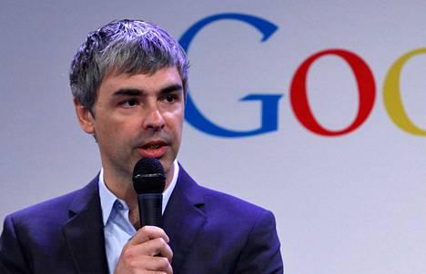 Googlen toimitusjohtaja Larry Page.