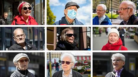 HS kyseli yli 70-vuotiailta riskiryhmäläisiltä tuntemuksia koronarajoitusajasta.