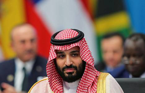 Saudi-Arabian kruununprinssi Mohammed bin Salman.